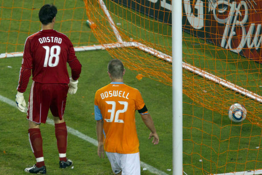 Struggling through their worst season, the Dynamo are open to trade offers. Photo: Smiley N. Pool, Chronicle
