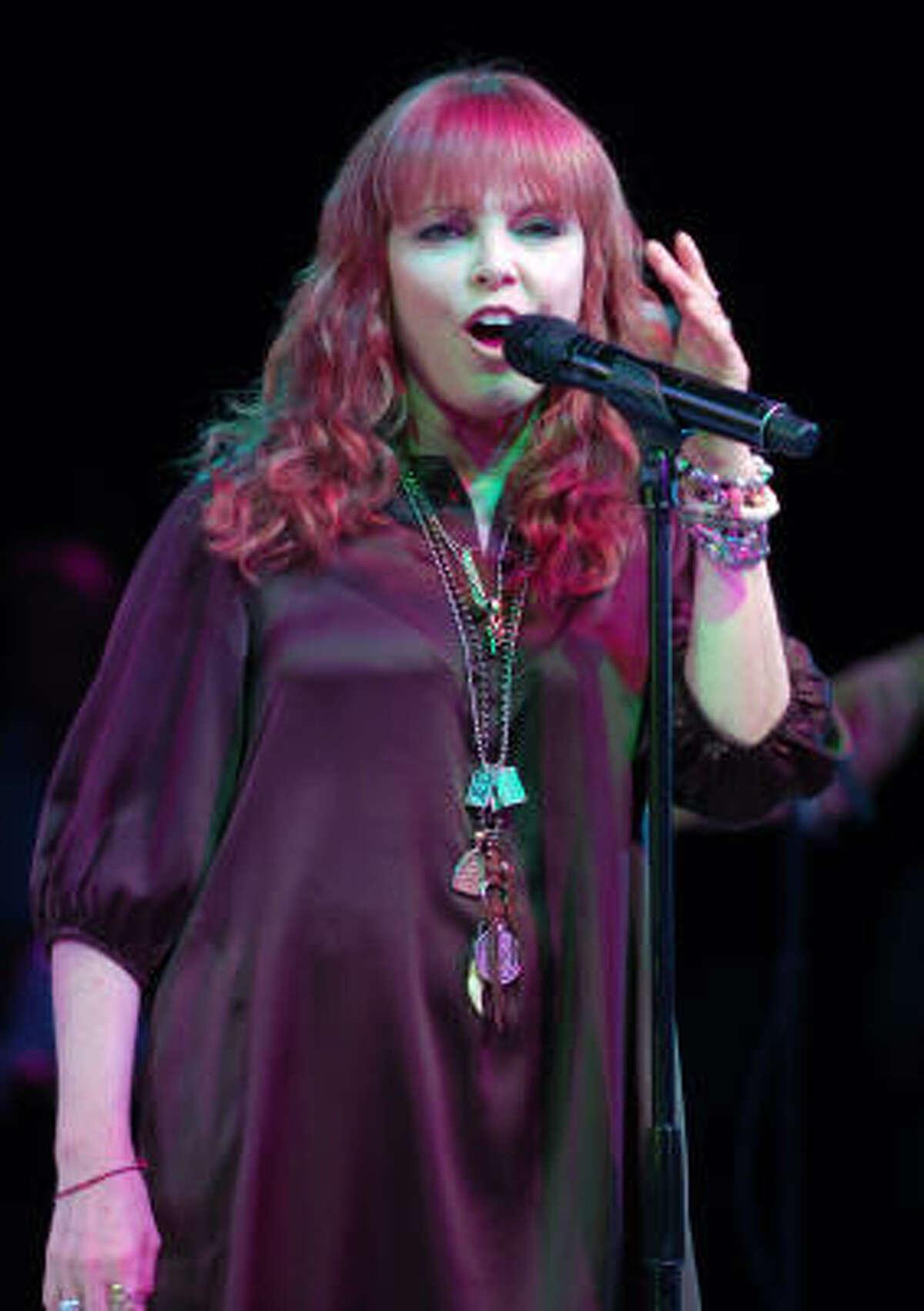 Pat Benatar : She's a four-time Grammy Award winner whose video
