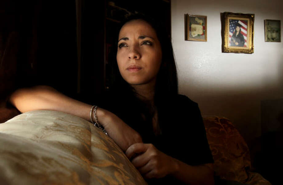 Rena Ortiz learned as a teen that everything about her past was false. She literally has no identity. Photo: Julio Cortez, Chronicle