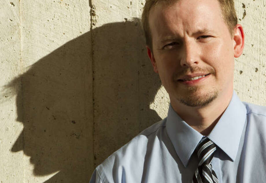 Thomas Schanding is an assistant professor in UH's school psychology program. Photo: Brett Coomer, Chronicle