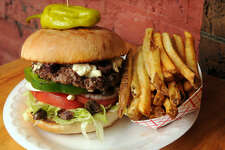 Head of the class: Chronicle restaurant reviewer Alison Cook calls the cheeseburger at Hubcap Grill  the best burger in Texas .