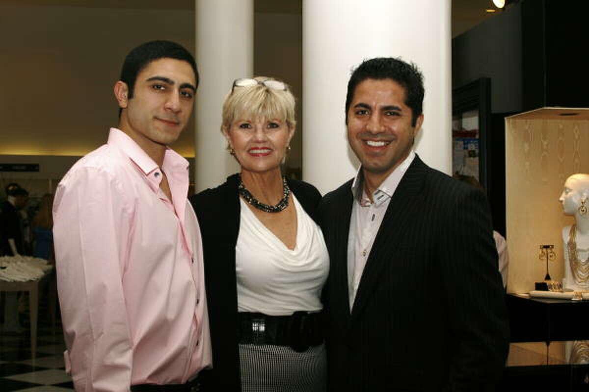 Omeed Abedin, Terry Rambin and Gavin Torabi