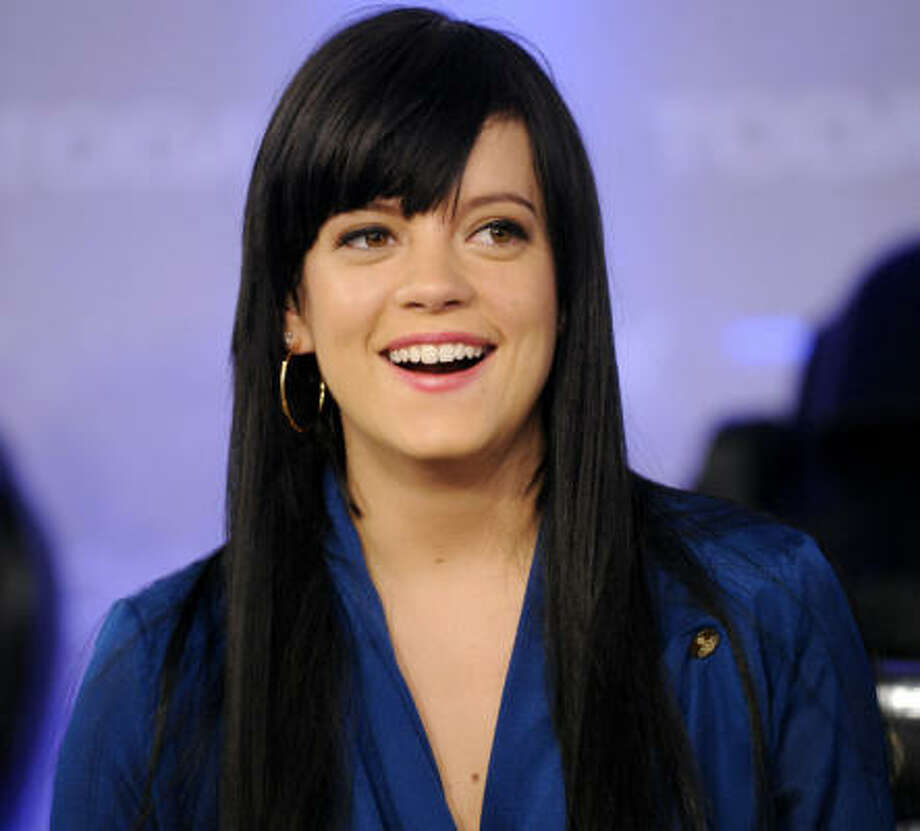 "Lily Allen joined the abortion debate last fall, posting a series of tweets on the topic - ""Can small minded idiot blokes stop telling women whether or not they're entitled to abortions please? #enoughnow.""  Photo: RICHARD DREW, AP"