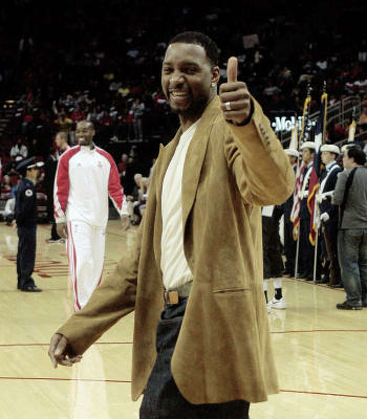 Dec. 7 Tracy McGrady and the Detroit Pistons.
