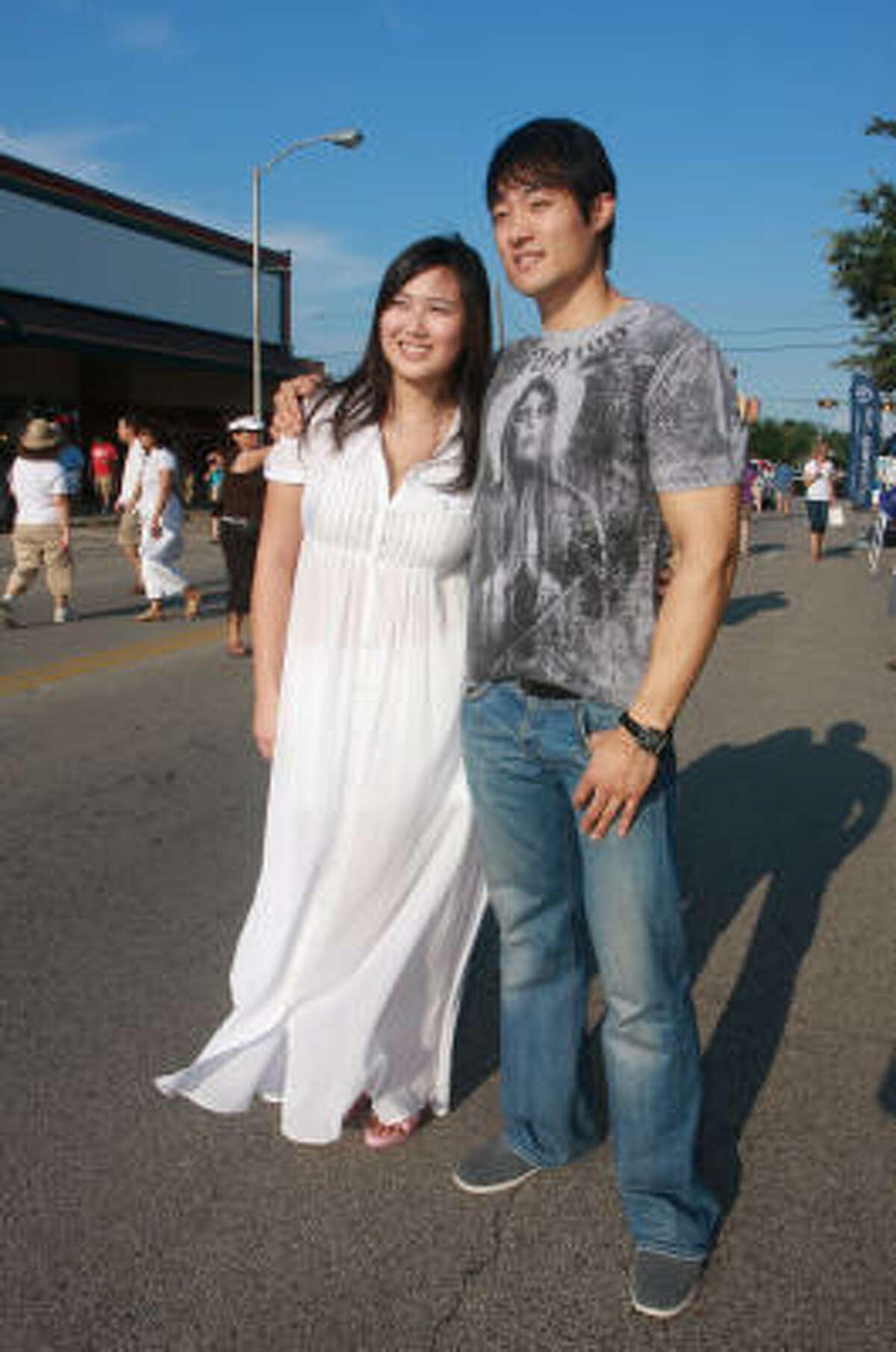 Jocelyn Huang and Howon Yang