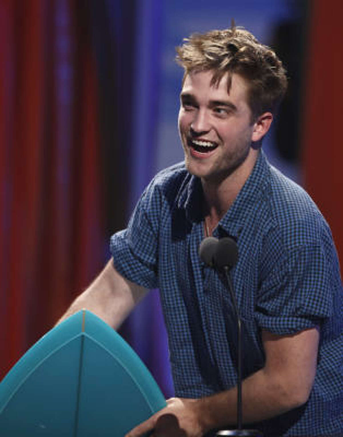 Another Twilight win: Robert Pattinson was voted the best actor in a drama film.