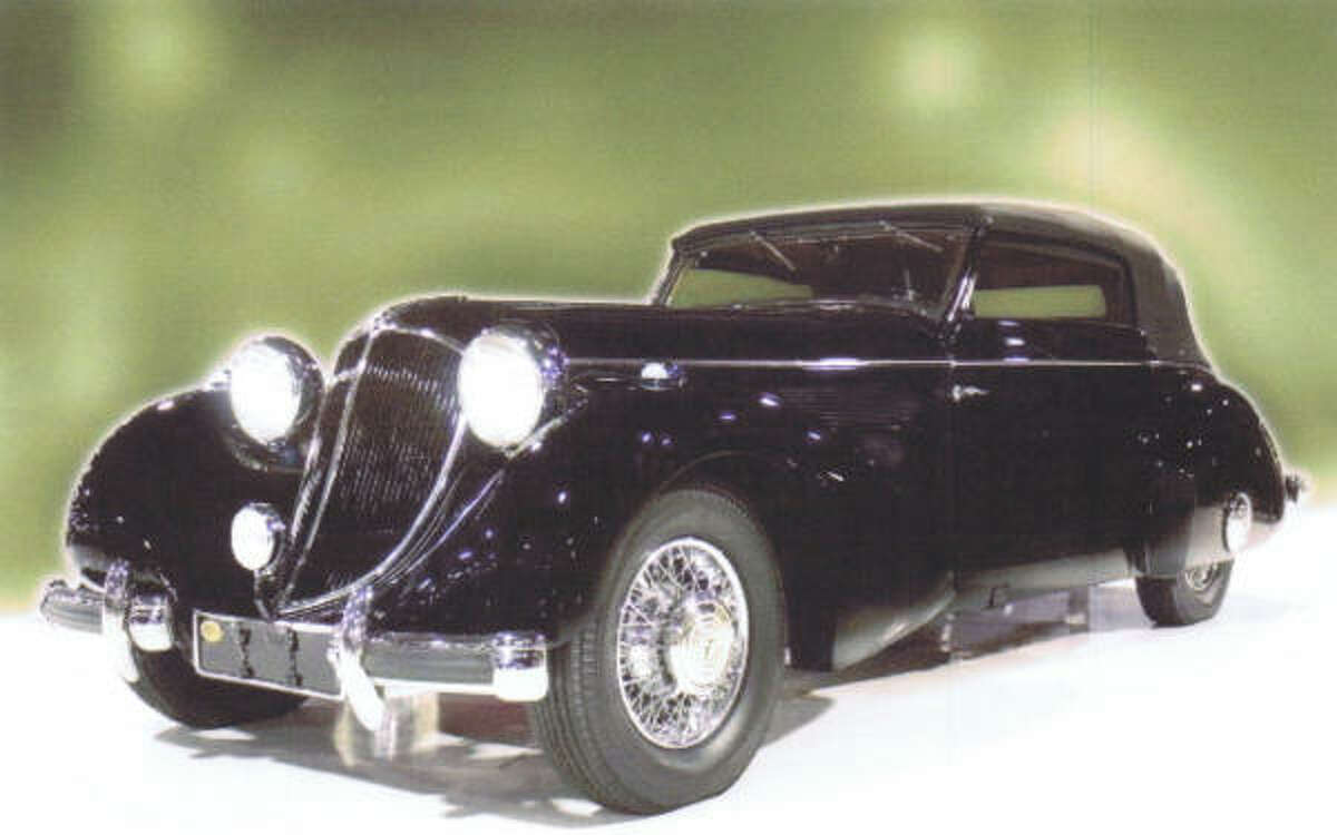 1936 Mercedes-Benz, valued at $1.1 million to $1.3 million
