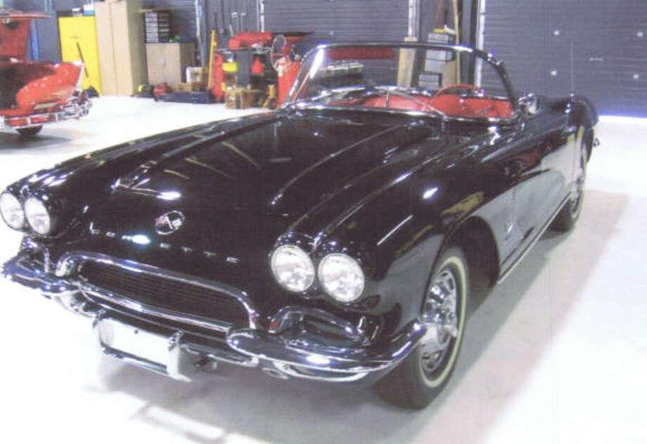 1962 Chevrolet Corvette. Photo: Handout Photo