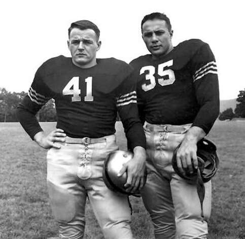 1946: Glenn Davis (left) 