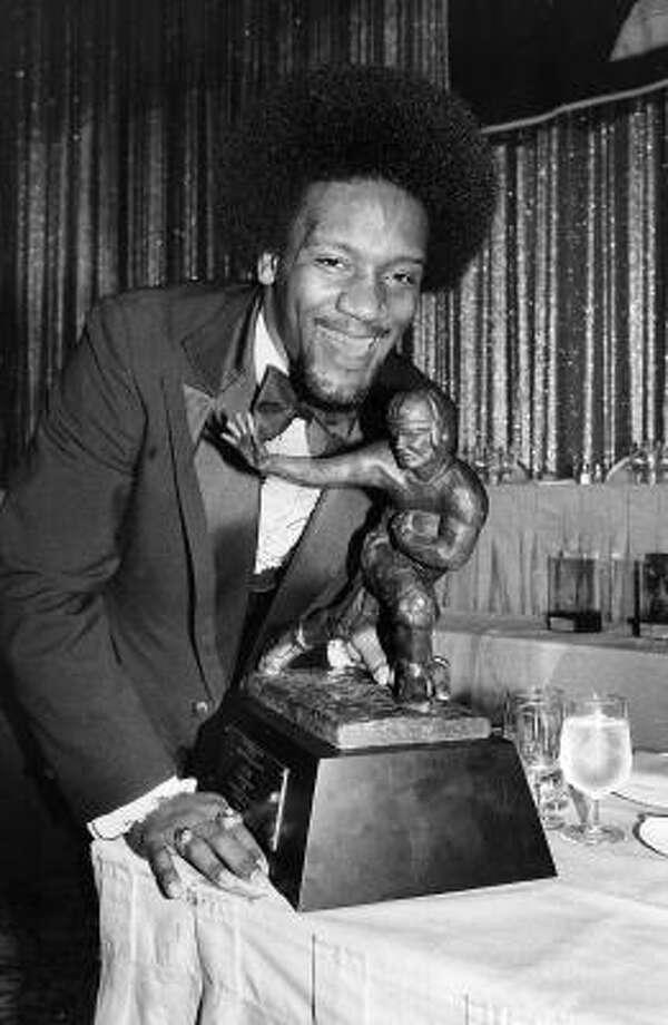 1978: Billy Sims  School: Oklahoma  Position: Running back  Class: Junior  Photo: AP