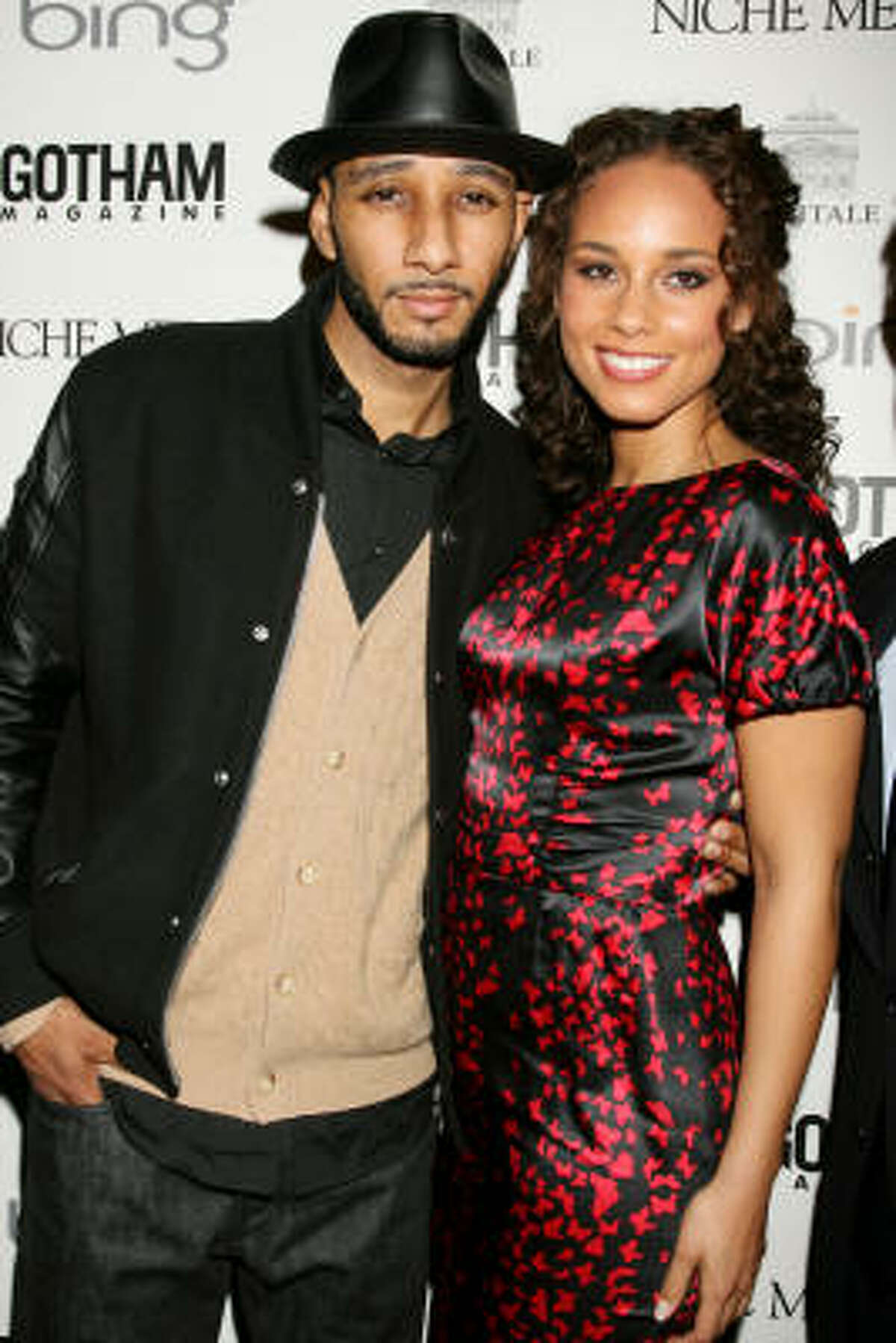 Alisha Keys The singer and mommy-to-be married KJ Swizz Beatz at the beginning of August.