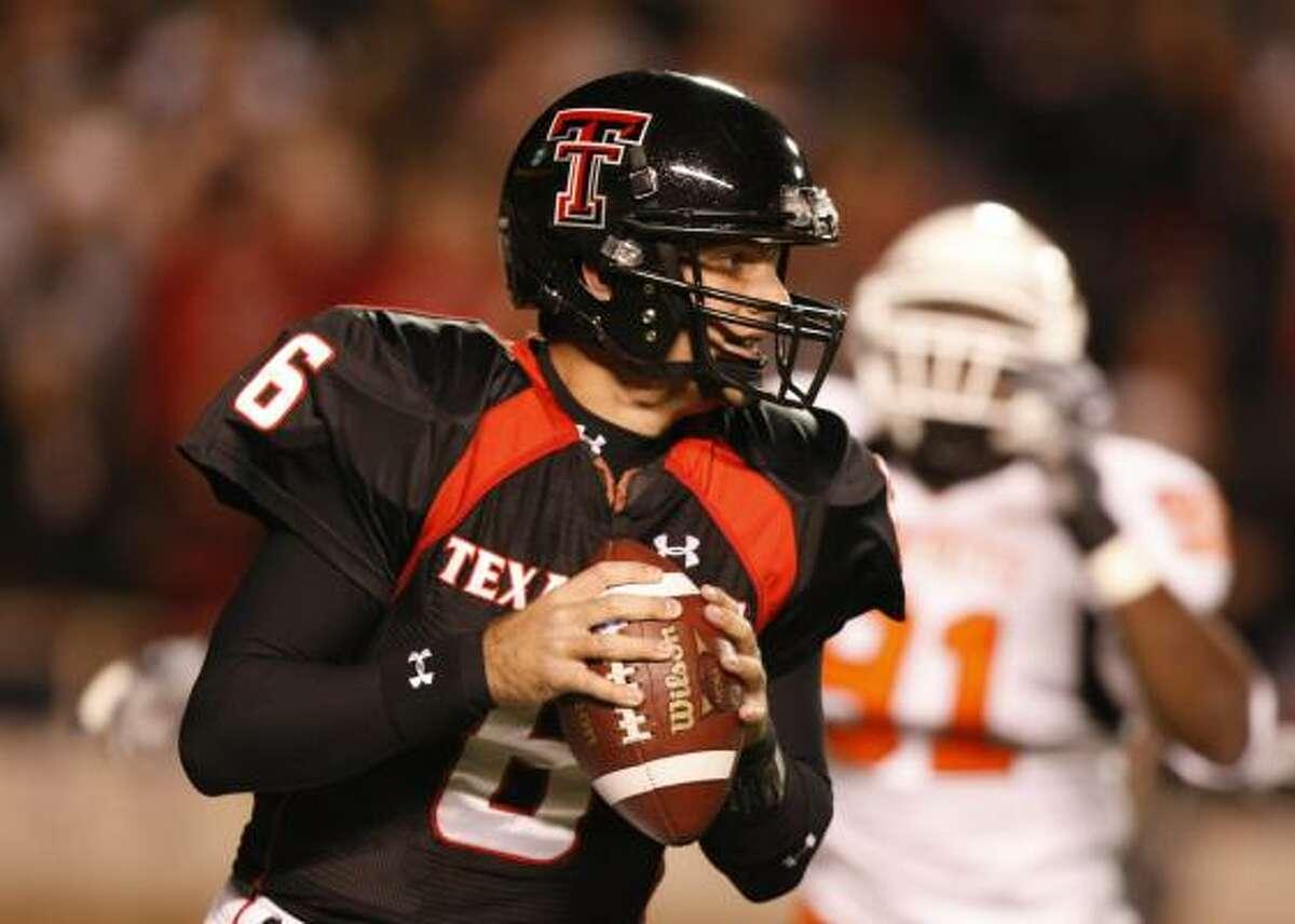 Graham Harrell School: Texas Tech Years: 2005-2008 Yards: 15,793