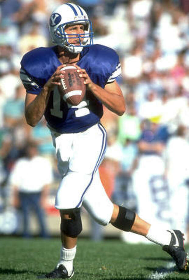 1990: Ty Detmer  School: BYU  Position: QB  Class: Junior Photo: Mike Powell, Getty Images