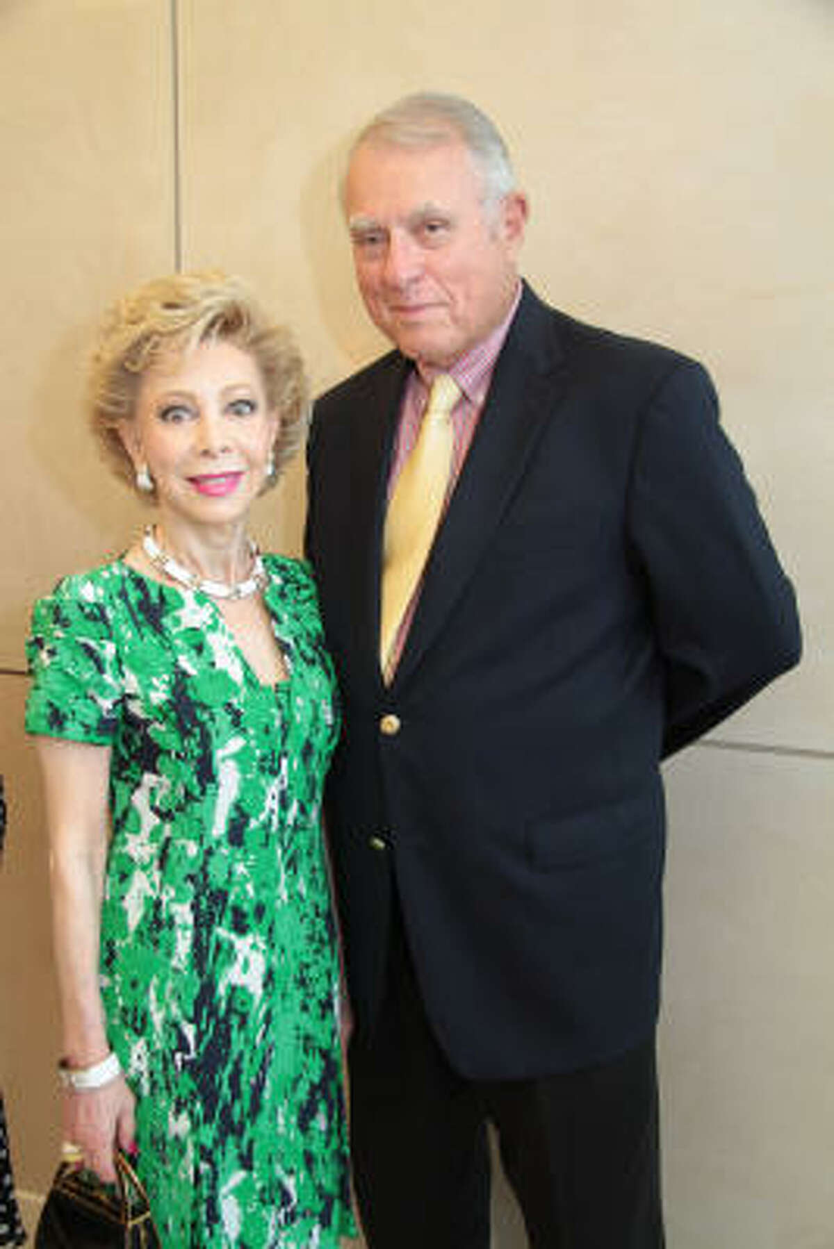 Margaret Alkek Williams and Jim Daniel