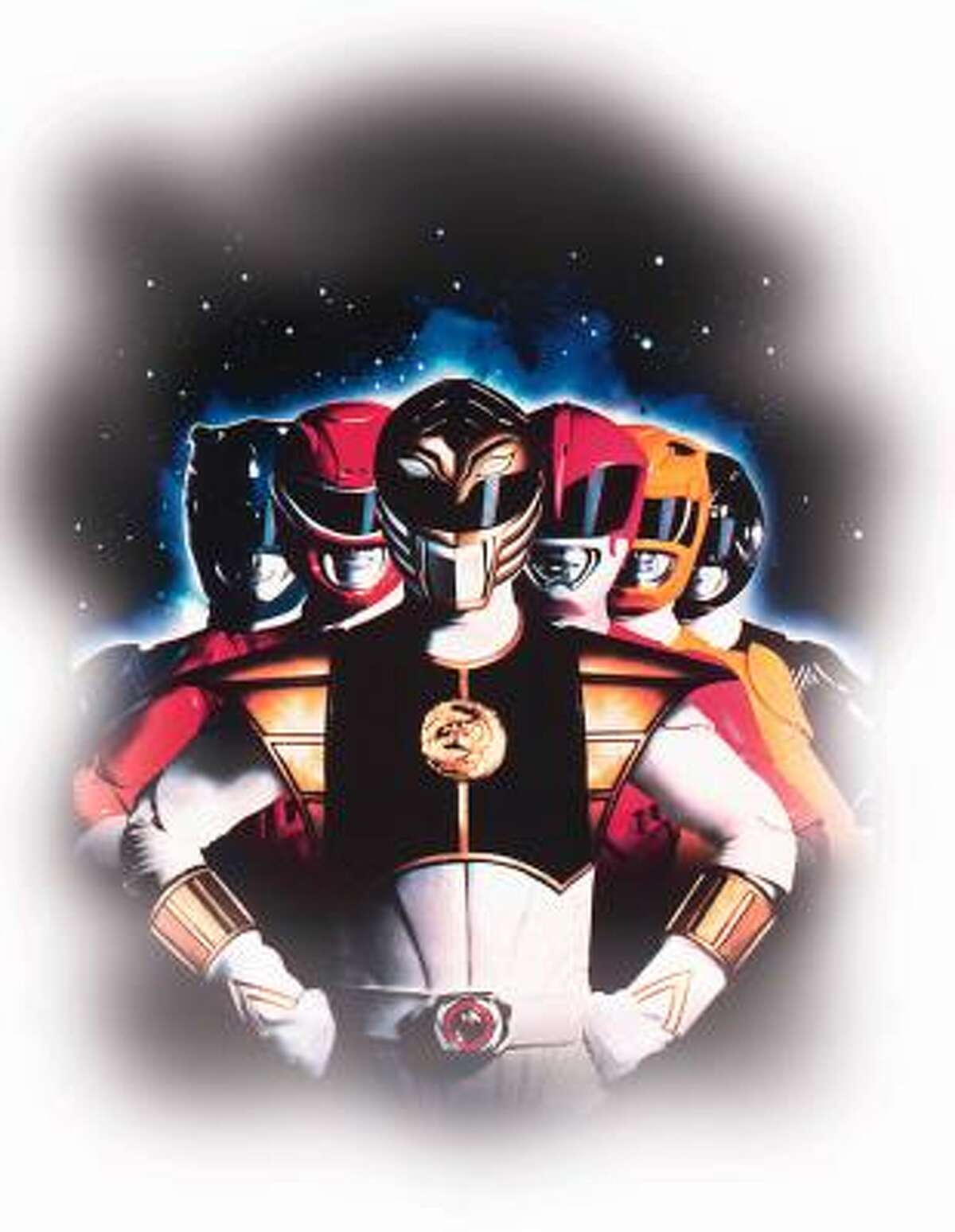 A poster from 'Mighty Morphin Power Rangers: The Movie.'