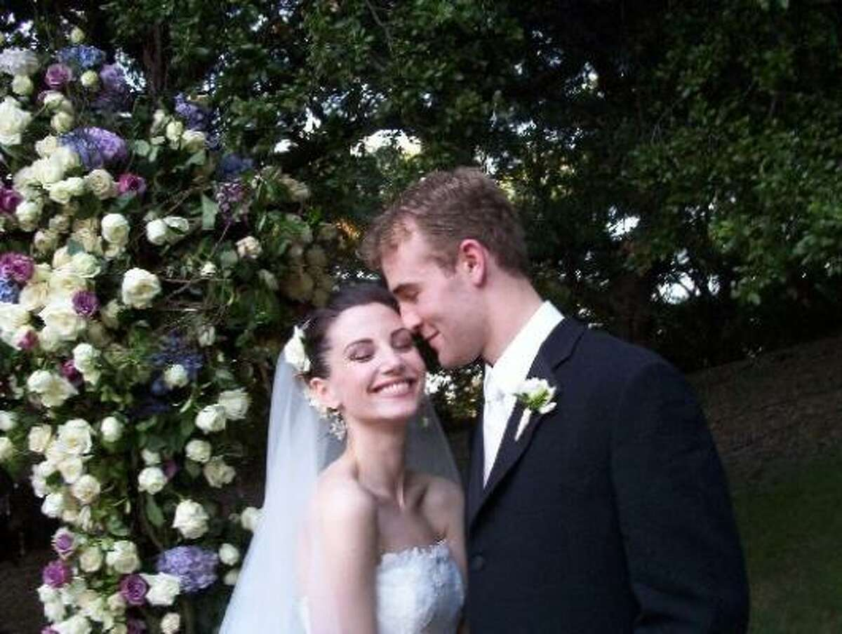 James Van Der Beek and his new wife Kimberly Brook wed over the same weekend as a few other high-profile couples: Alicia Keys to Swizz Beats, Chelsea Clinton to Marc Mezvinsky and rapper T.I. to Tameka (Tiny) Cottle.