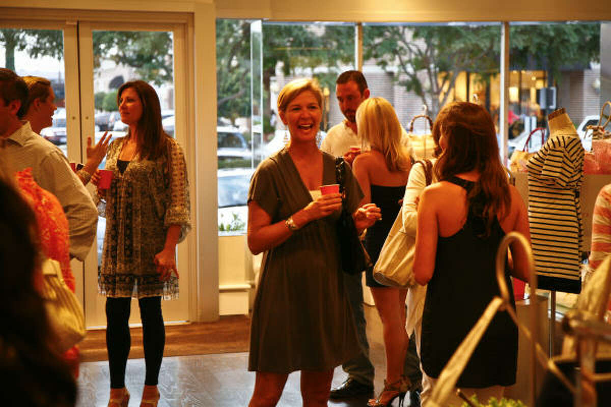 Event goers at Toast the Coast.