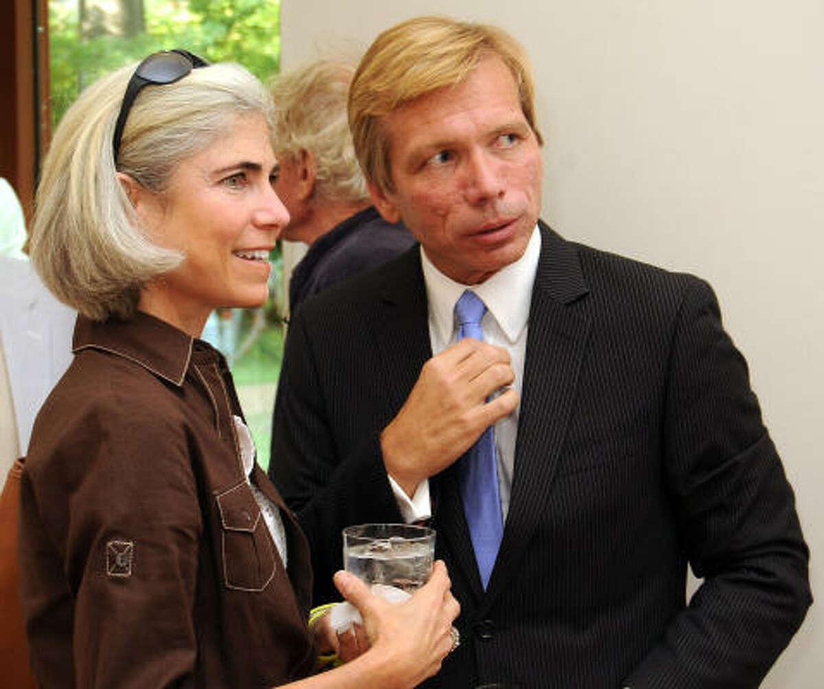 Judy Nyquist and Jonathon Glus