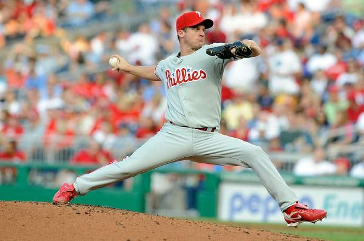 Roy Oswalt made a start for a team other than the Astros for the first time in his career.