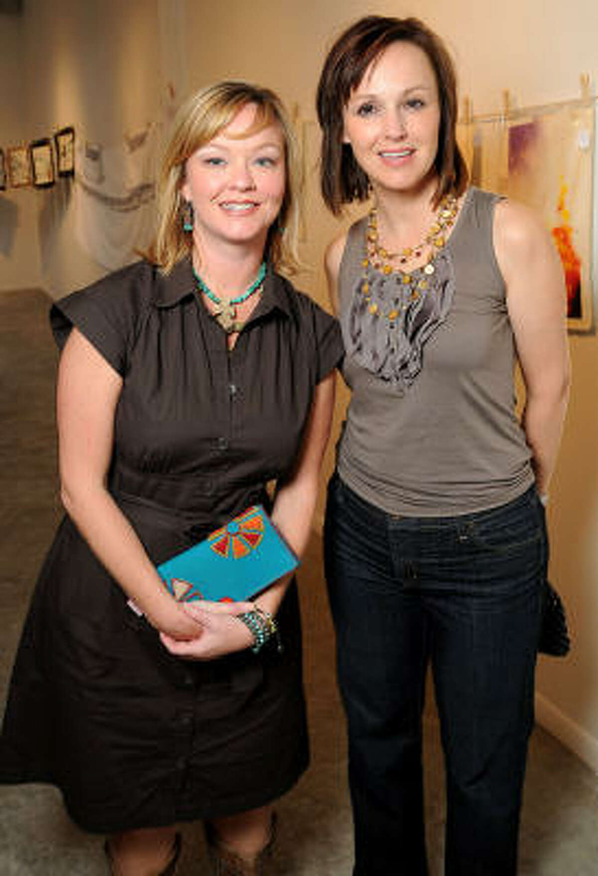Brandi Hartsell and Lori Tatam