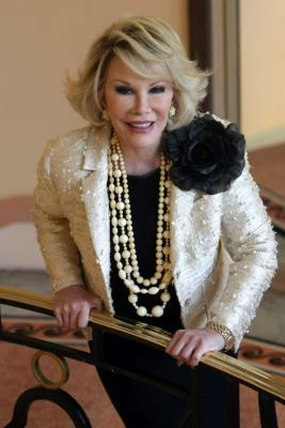 Joan Rivers, 77 The Celebrity Apprentice champ just released her documentary-memoir, Joan Rivers: A Piece of Work.