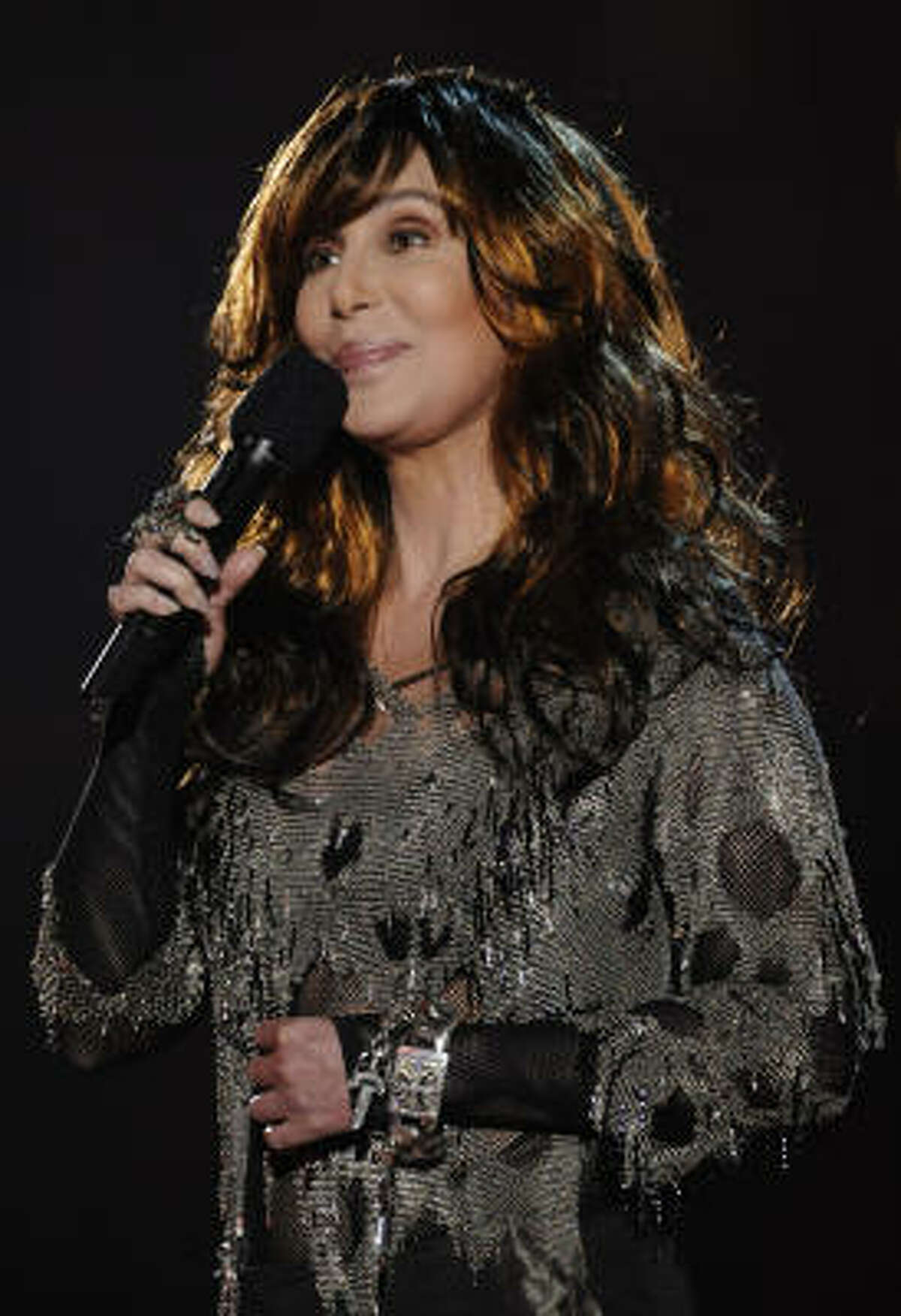 Cher, 64 She's coming out of