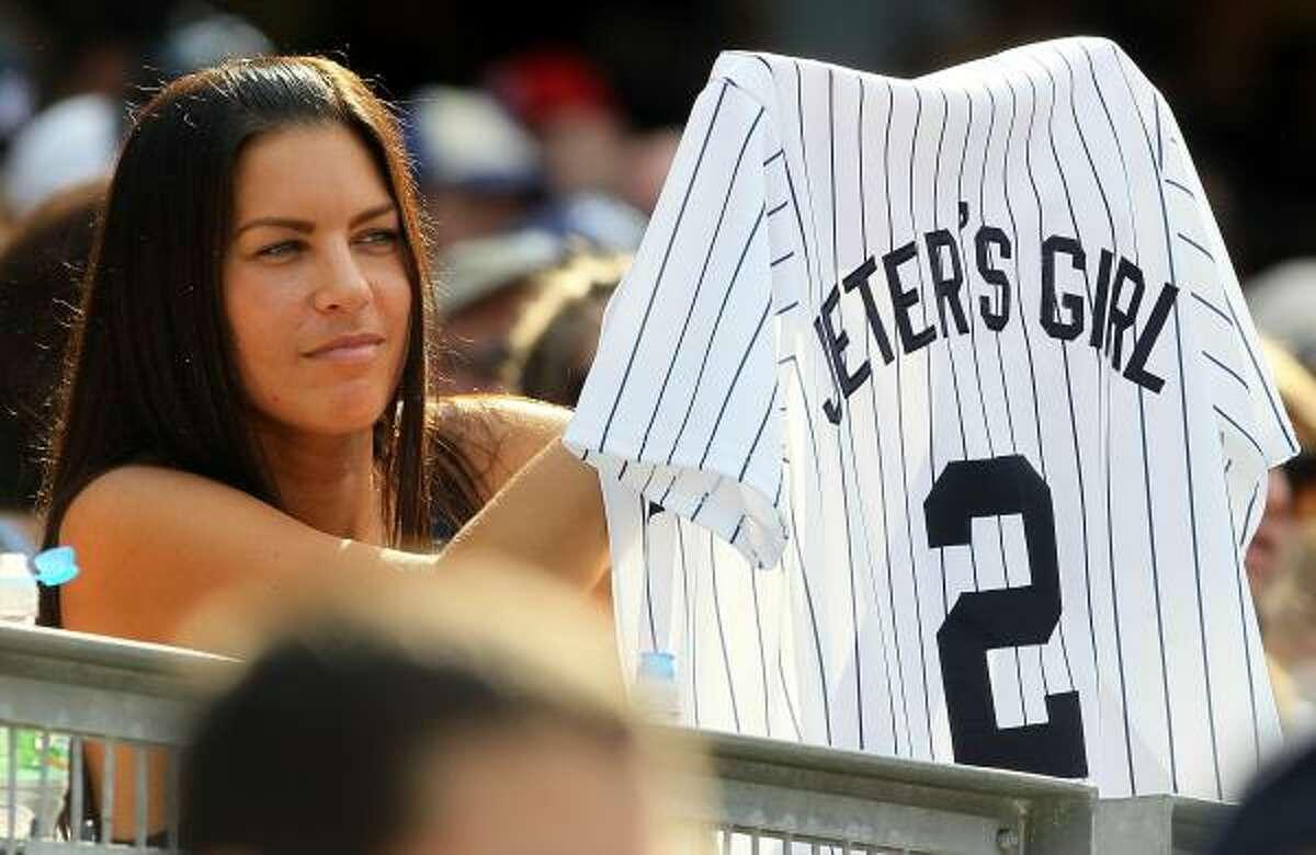 1. New York Yankees shortstop Derek Jeter