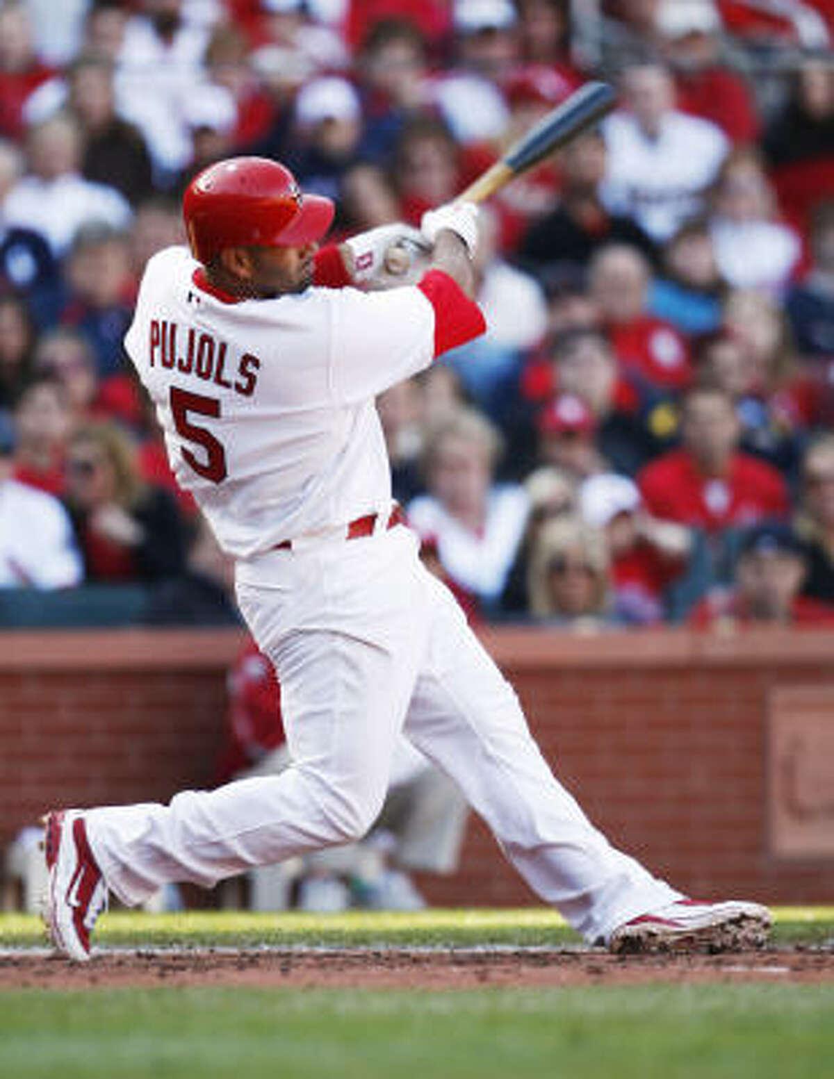 3. St. Louis Cardinals first baseman Albert Pujols