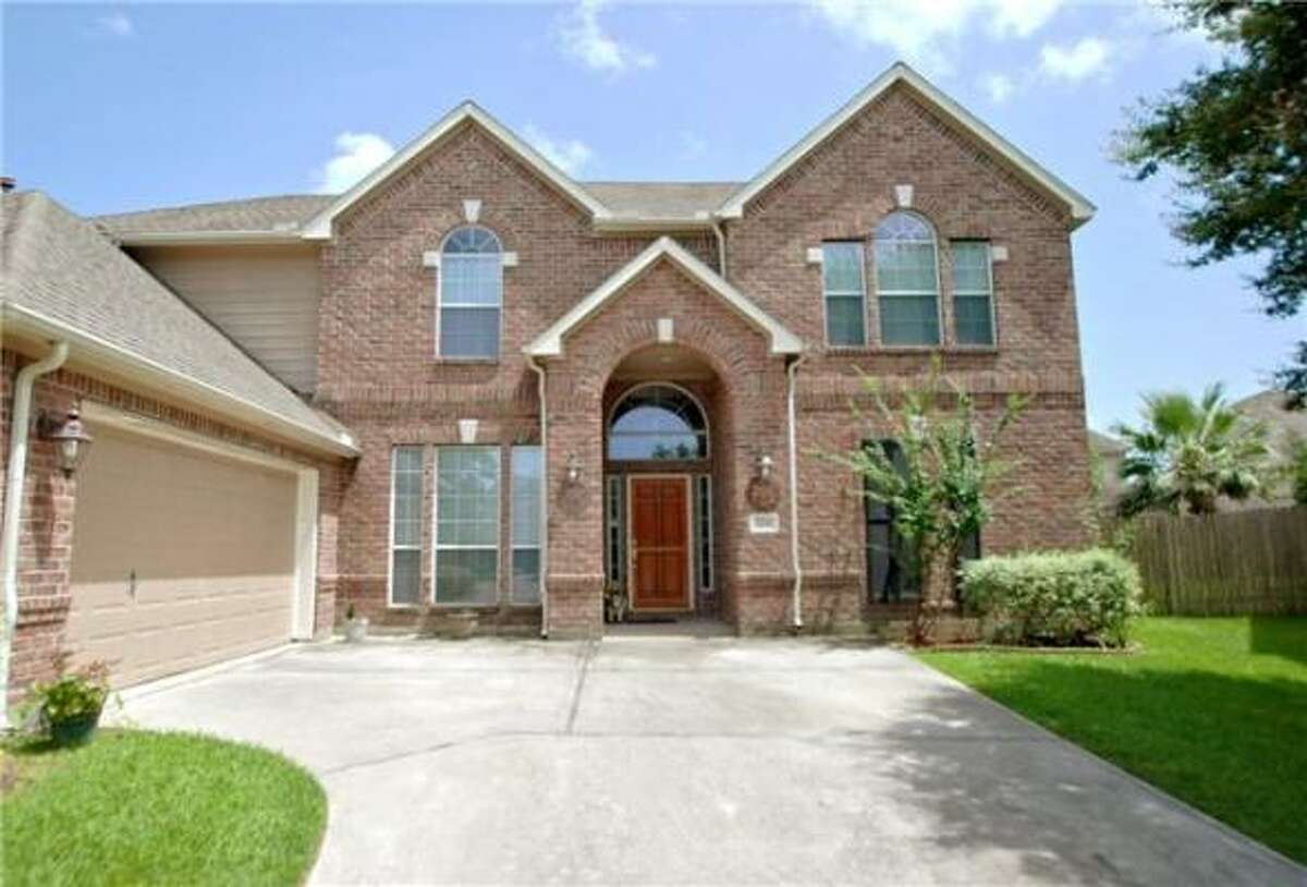 The asking price for this four-bedroom home in League City is $234,600. See more photos and details here.