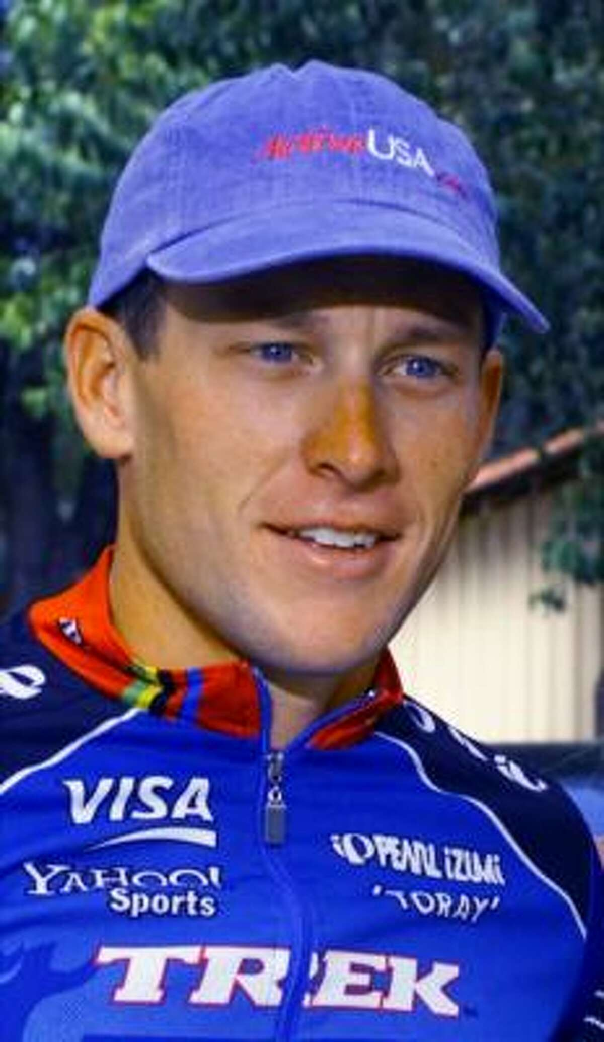 Cyclist Lance Armstrong is shown in this Oct. 8, 1999, file photo in Austin, Texas. Before Armstrong conquered cancer and triumphed at the Tour de France, the Race for the Roses was a small competition among friends. Since winning the famed yellow jersey abroad, the hometown race has grown into a full-fledged charity event expected to draw 8,000 cyclists this weekend in Austin.