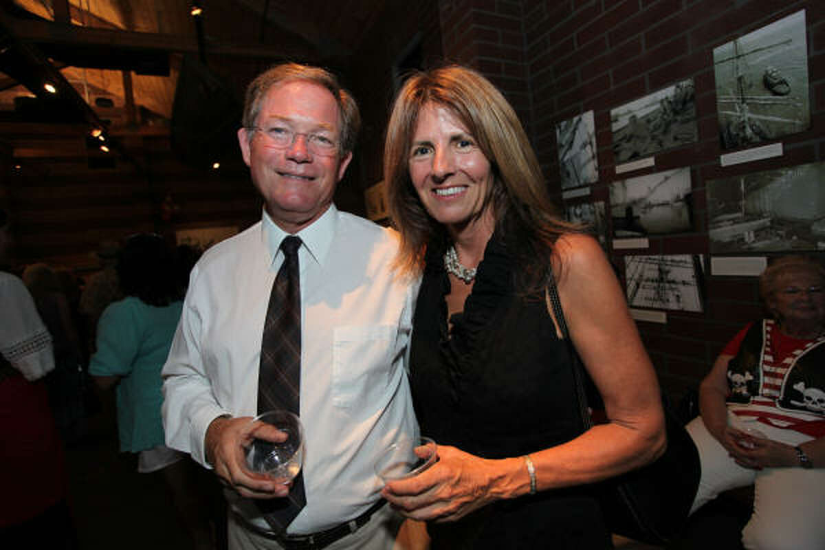 Jack Haupert and Paula Roberts