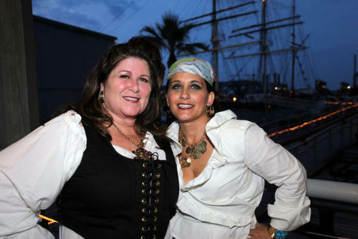 From left: Robin Cavaliero and Eileen Donlon