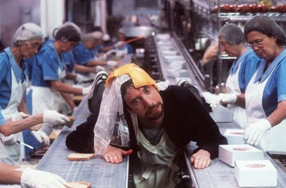 "Freddy Got Fingered""This movie doesn't scrape the bottom of the barrel. This movie isn't the bottom of the barrel. This movie isn't below the bottom of the barrel. This movie doesn't deserve to be mentioned in the same sentence with barrels."" -- Roger Ebert Photo: 20th Century Fox"