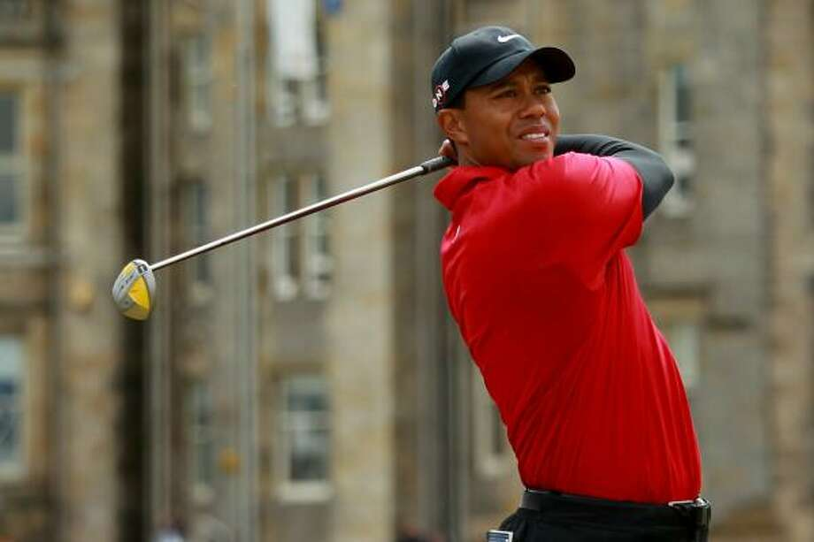 T1. Tiger Woods Photo: Warren Little, Getty Images