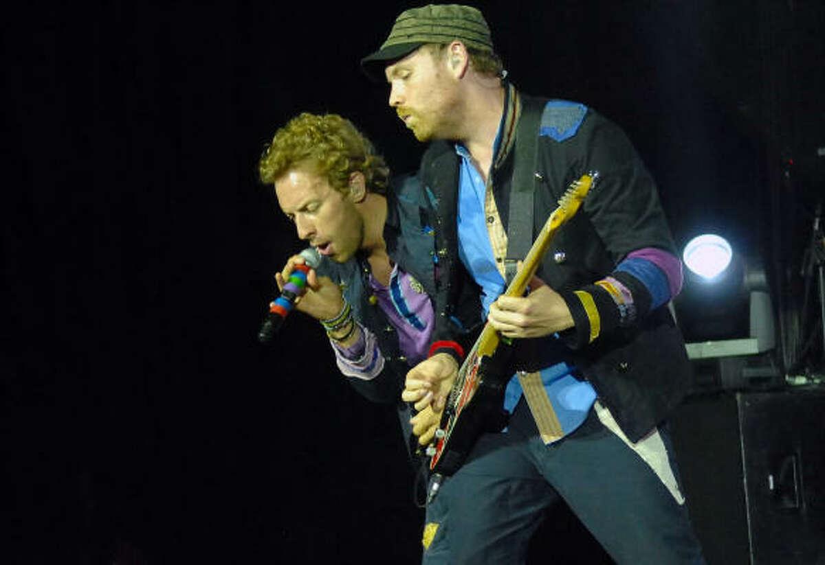 10. (Tie) Coldplay - $48 million
