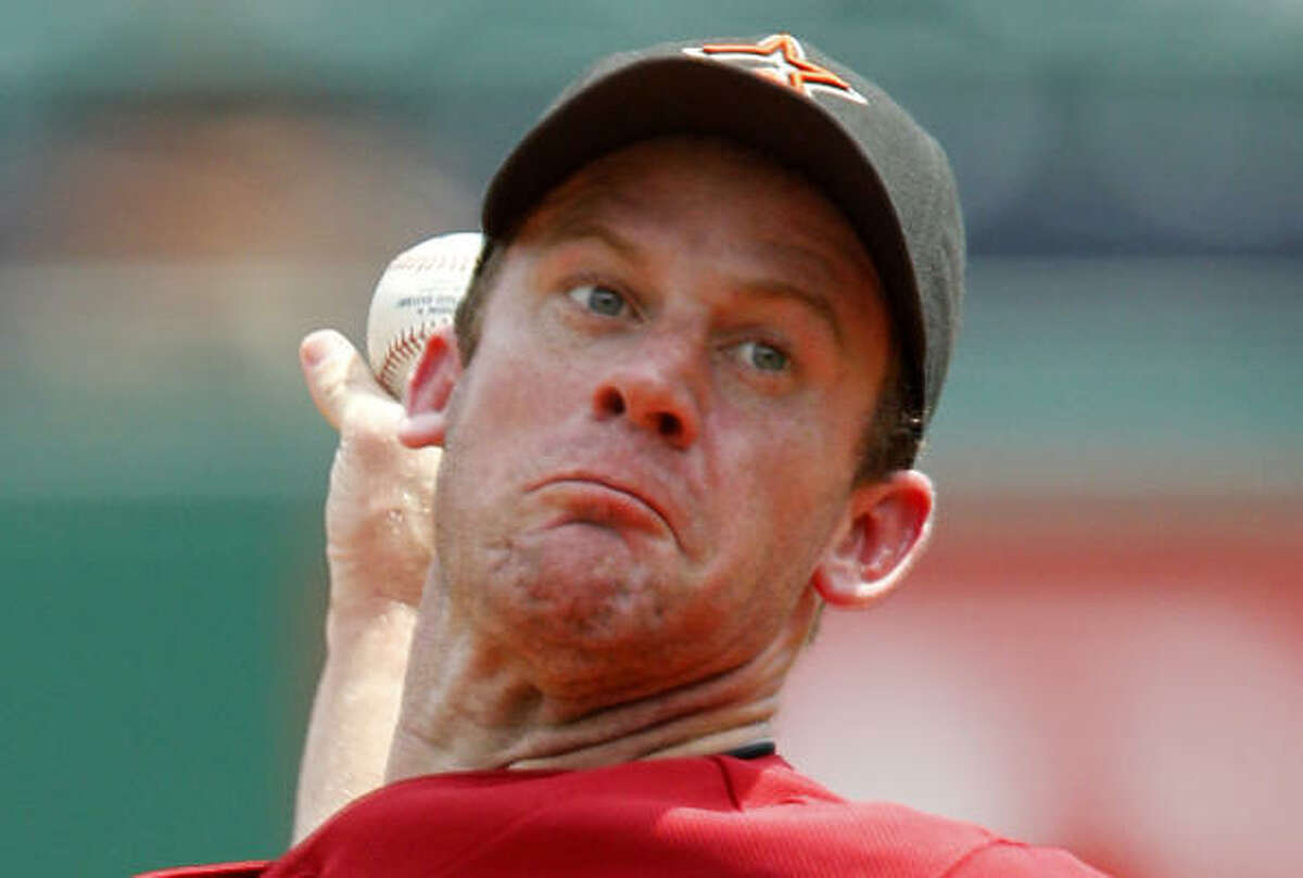 July 18: Pirates 9, Astros 0 Astros pitcher Roy Oswalt lasted just four innings before leaving with an ankle contusion.