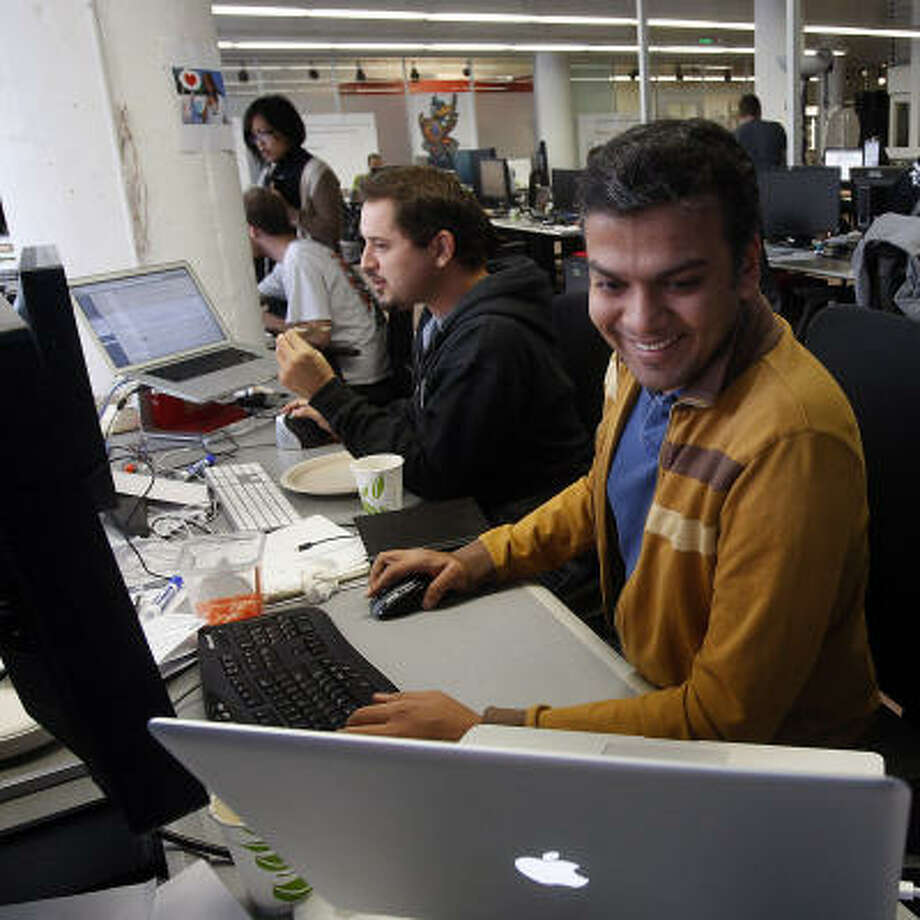 Gaurav Agarwal is development manager for the social game FarmVille, a product of San Francisco-based Zynga. Zynga is one of the world's most rapidly expanding Web ventures. Photo: Liz Hafalia, San Francisco Chronicle