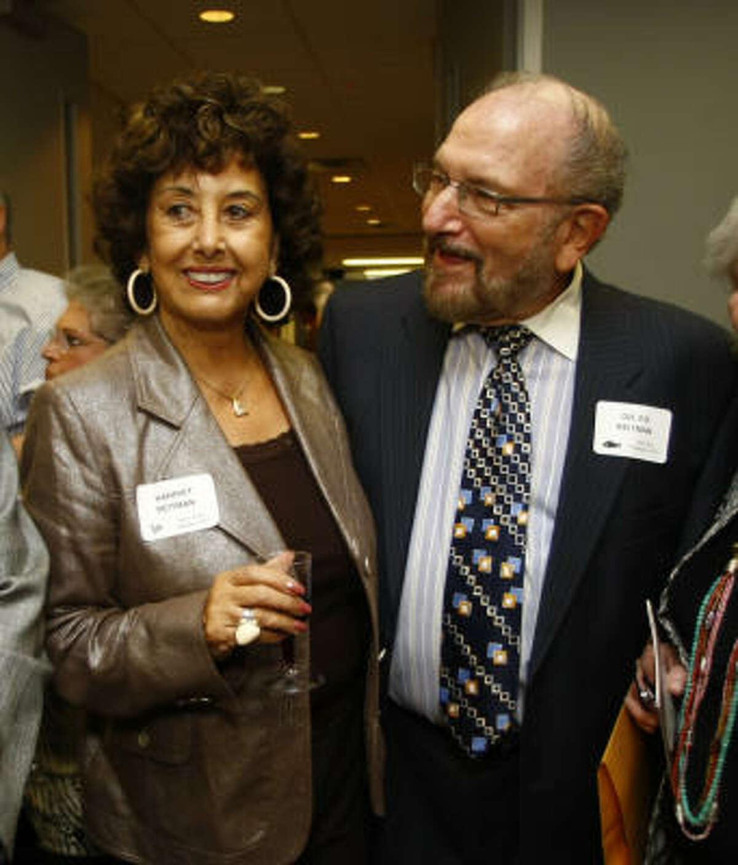 Harriet Reitman and Dr. Ed Reitman