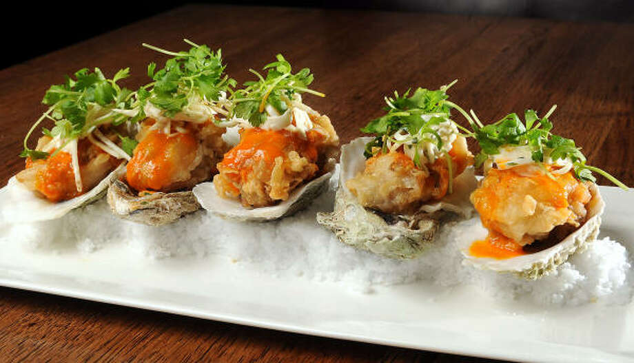 Chicken-fried oysters Photo: Dave Rossman :, For The Chronicle