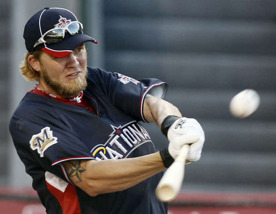 First round Corey Hart, Milwaukee Brewers, 13 home runs Photo: Chris Carlson, AP