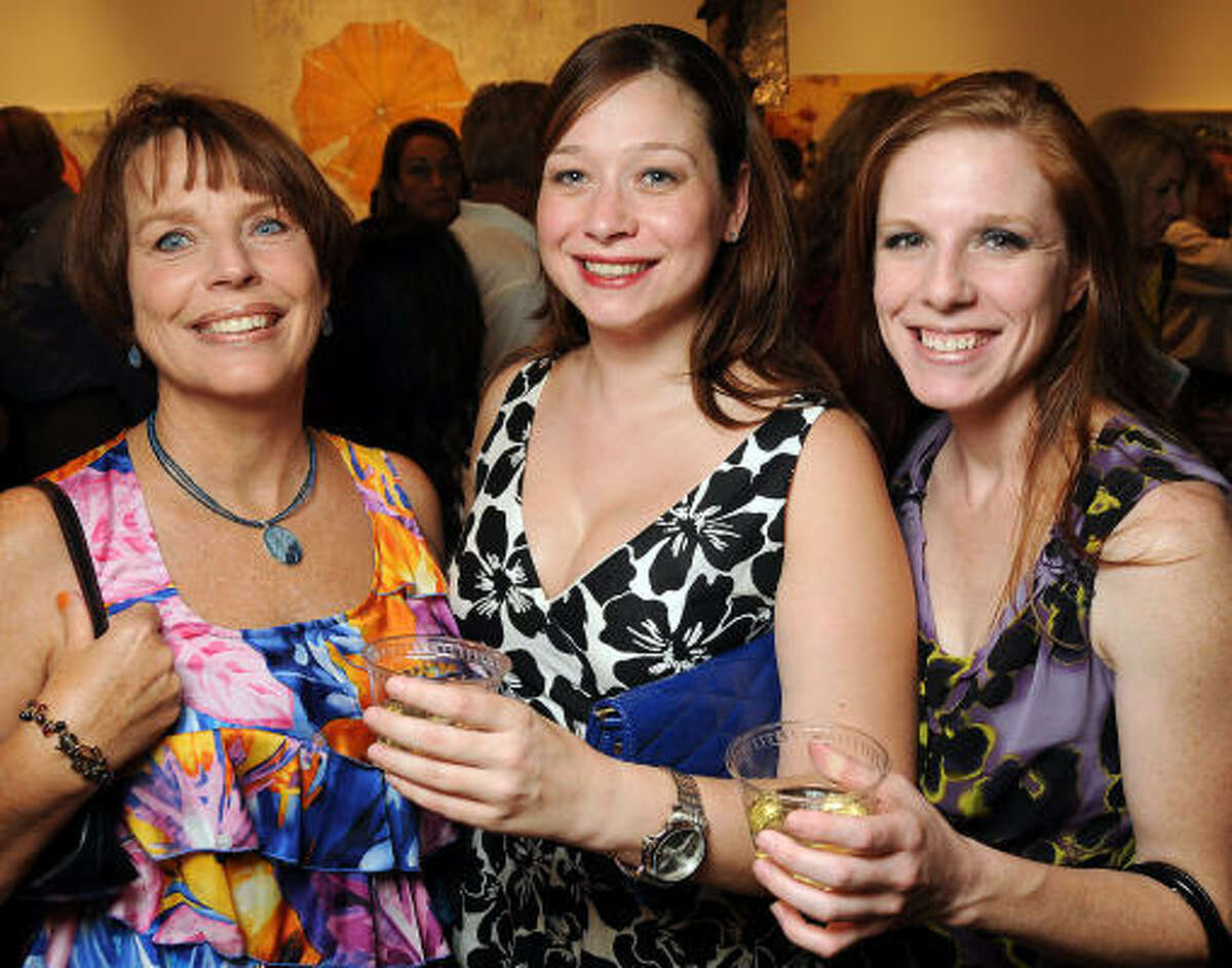 Susan Standon, Laura Stanford and Laura Butcher