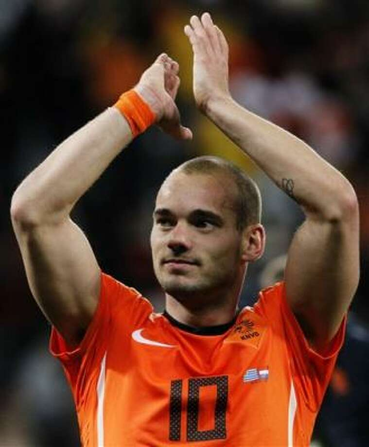 Wesley Sneijder (Holanda) Photo: Bernat Armangue, AP