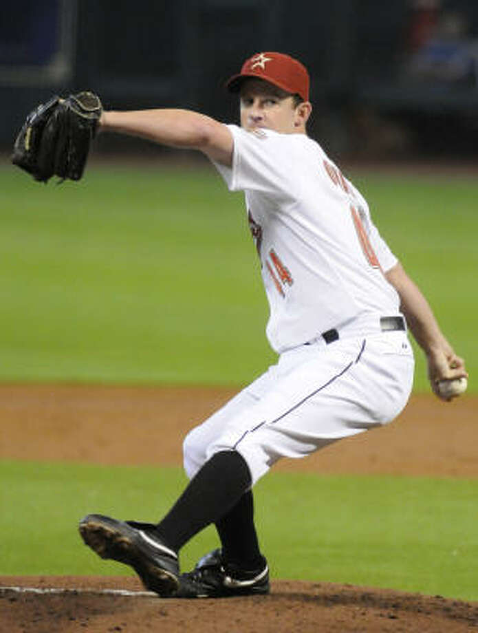 Roy Oswalt tossed a one-hit shutout, striking out eight Pirates to improve to 6-10. Photo: Pat Sullivan, AP