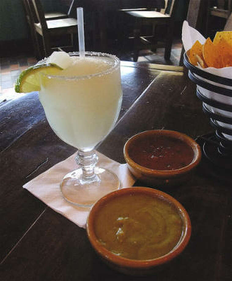 A frozen margarita at Cafe Adobe on Bay Area Boulevard. (File photo) Photo: Alison Cook, Chronicle