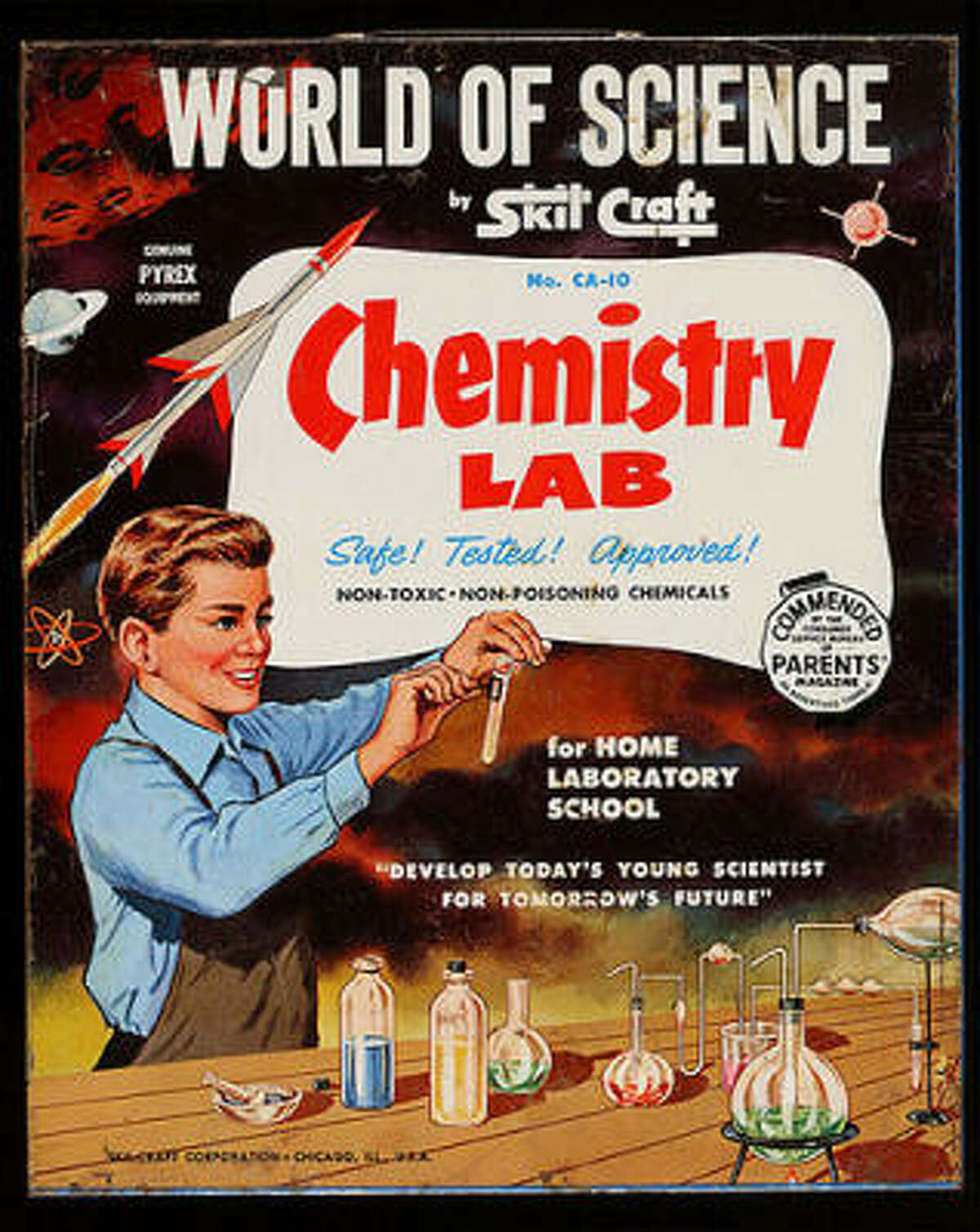 Chemistry sets Credit: x-ray delta one/ Flickr