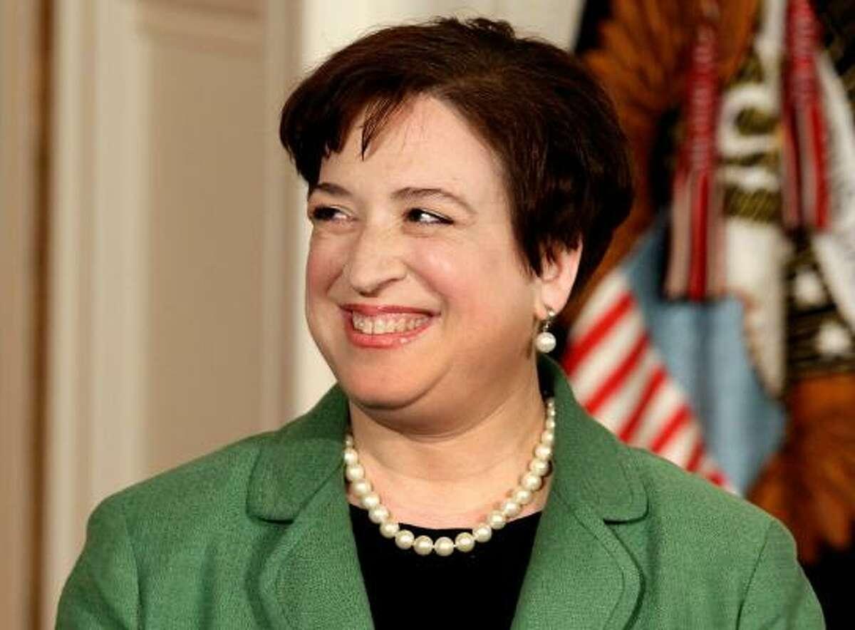 Solicitor General Elena Kagan