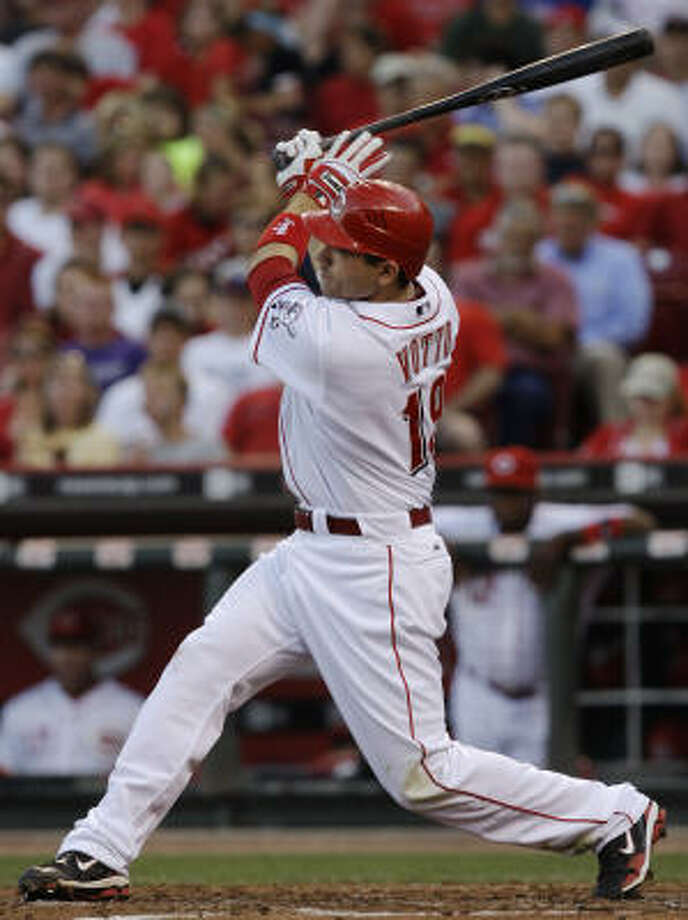 National League Joey Votto, Reds: The first baseman lost out to Albert Pujols, Ryan Howard and Adrian Gonzalez, even though their numbers aren't quite as good Votto's this year. Votto is a final vote candidate. Photo: Al Behrman, AP