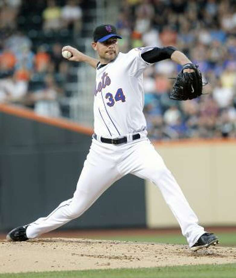 Mike Pelfrey, Mets: He's one of only three NL pitchers with 10 victories, and his 2.93 ERA actually ranks 12th in the NL. He's also the only guy with 10 wins and a save. Photo: Paul J. Bereswill, AP