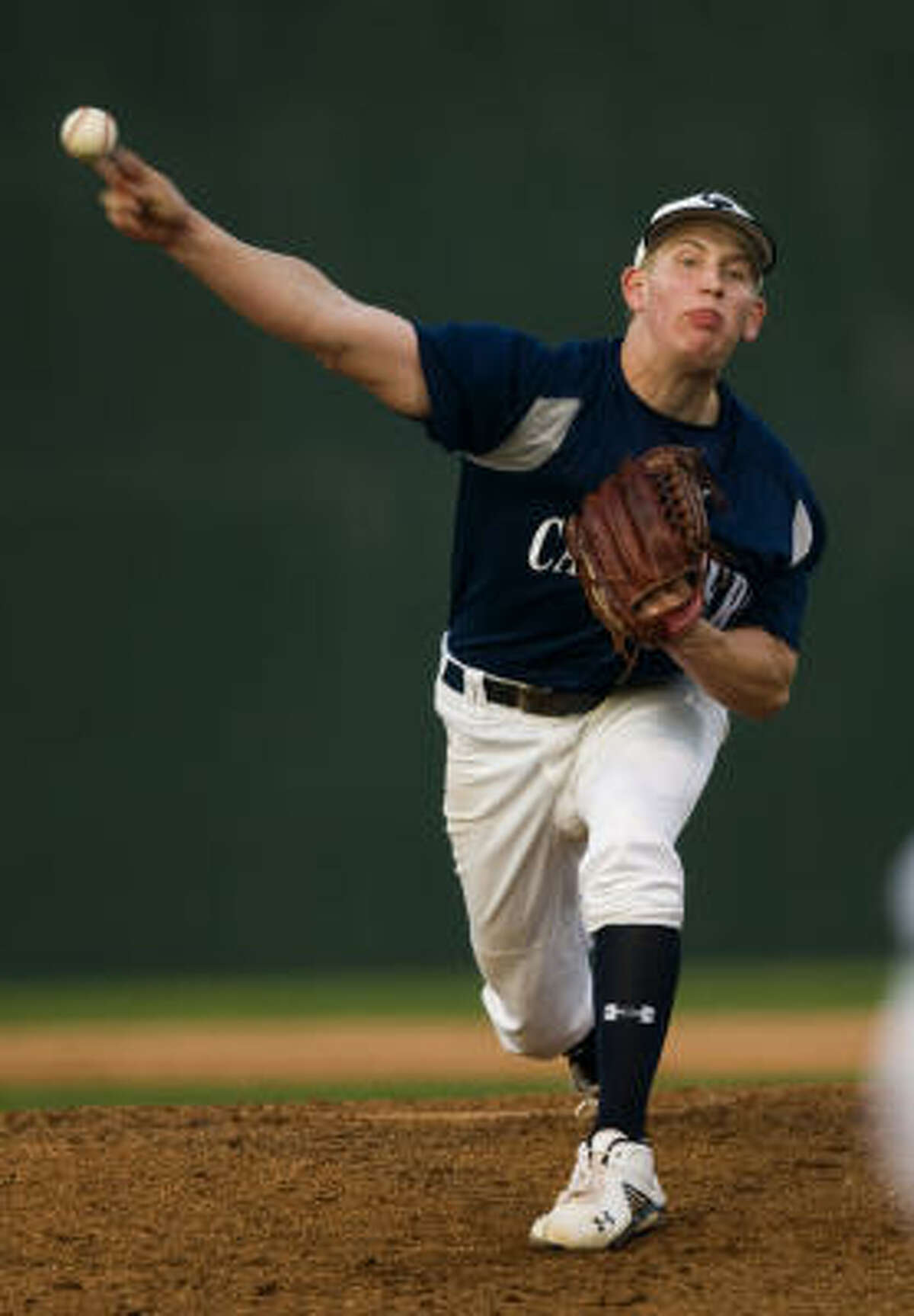 John Simms, Sr., P, College Park The Rice signee was the District 14-5A most valuable player and went 8-1 with a 1.07 ERA. He struck out 123 batters in 65 1/3 innings, while also hitting .370 at the plate.