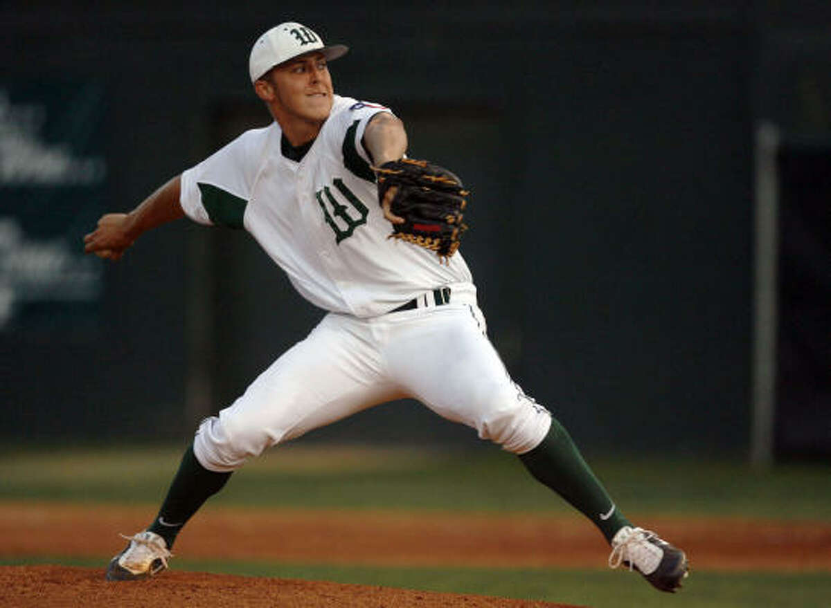 Jameson Taillon, Sr., P, The Woodlands The Rice signee and No. 2 overall pick by the Pittsburgh Pirates in the MLB Draft was 8-1 with a 1.78 ERA with 114 strikeouts in 62 2/3 innings. For his career he was 22-6 with 282 strikeouts in 173 innings.